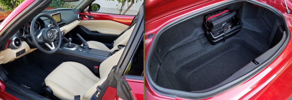 Miata RF cabin and trunk