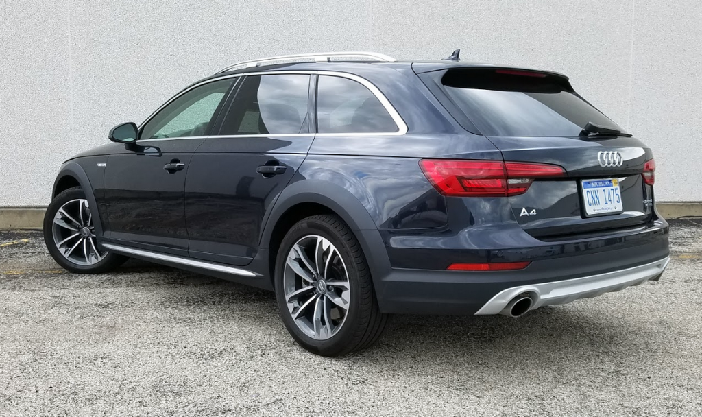 2017 Audi A4 Allroad, Blue