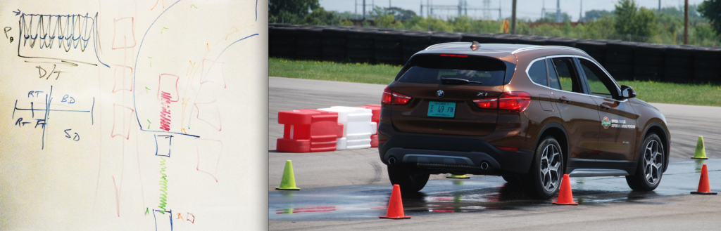 Abstract teen extreme driving course teen quite tempting