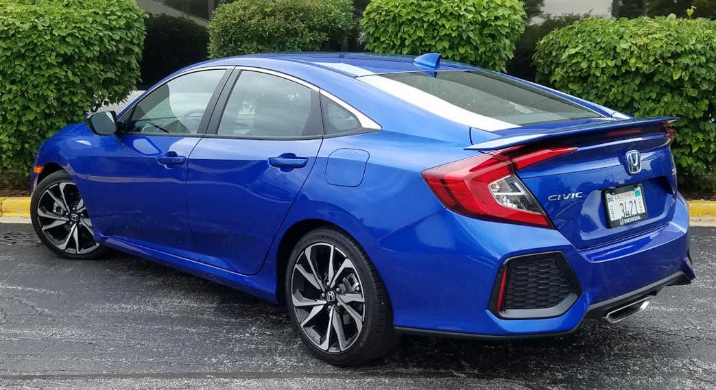 Test Drive: 2017 Honda Civic Si Sedan | The Daily Drive ...