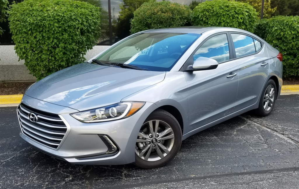 2017 Hyundai Elantra SE in Shale Gray Metallic