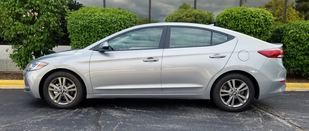 2017 Hyundai Elantra, Slate Gray Metallic, Profile view