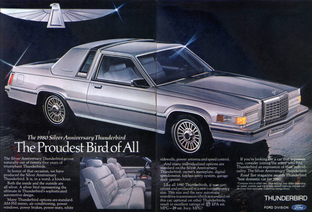 1980 Ford Thunderbird, 25th Anniversary Edition