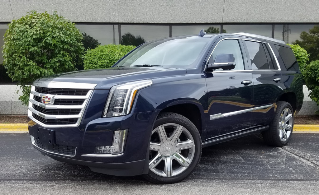 2017 Cadillac Escalade in Dark Adriatic Blue