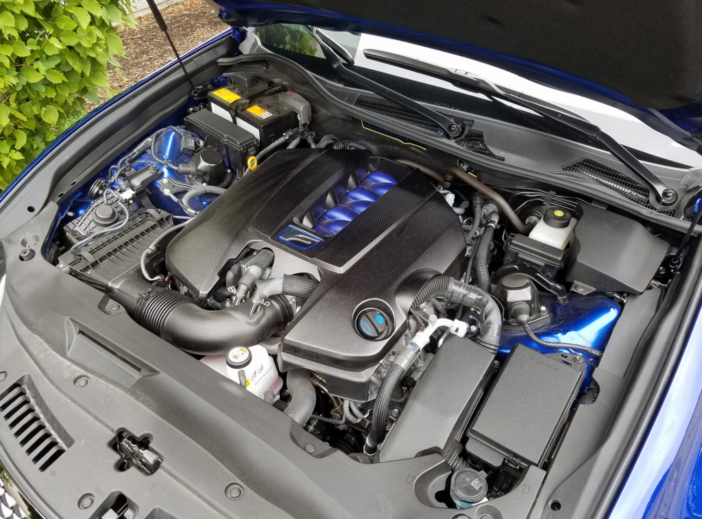Lexus GS F Engine