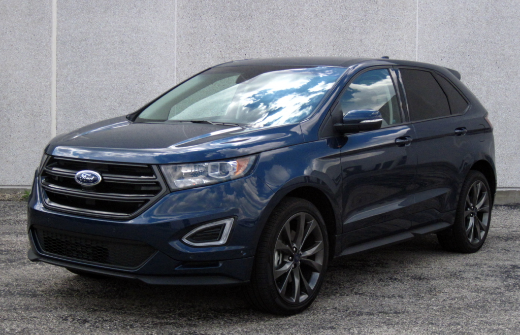 test drive 2017 ford edge sport the daily drive consumer guide the daily drive consumer. Black Bedroom Furniture Sets. Home Design Ideas