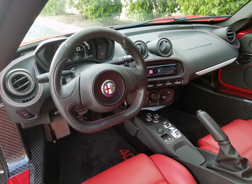 Quick Spin: 2017 Alfa Romeo 4C Coupe | The Daily Drive ...