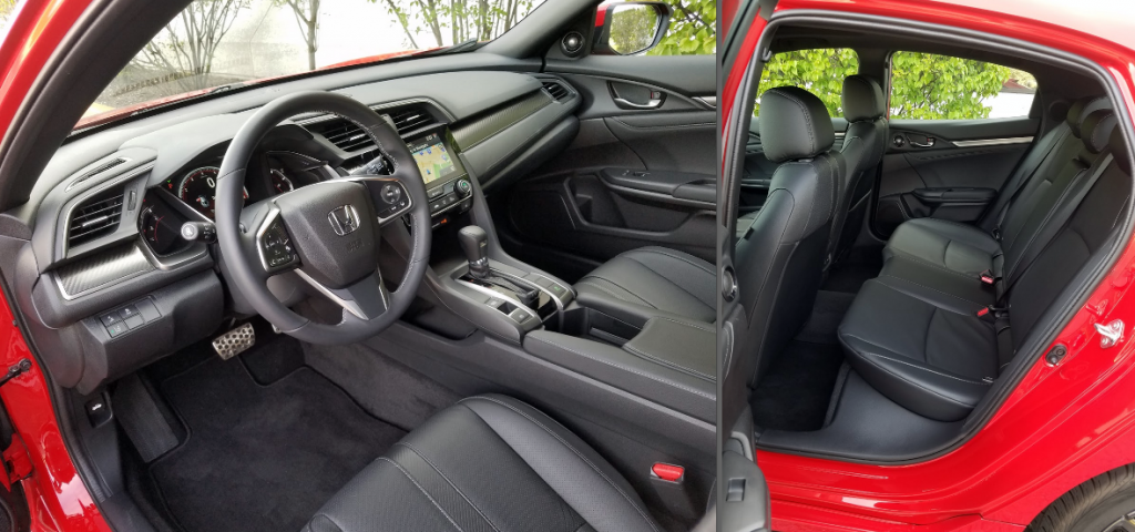 2017 Honda Civic Hatchback cabin