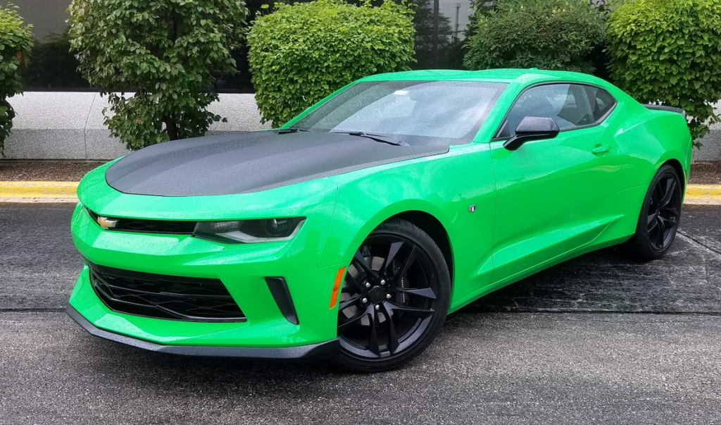 2017 Chevrolet Camaro 1LE V6 in Krypton Green