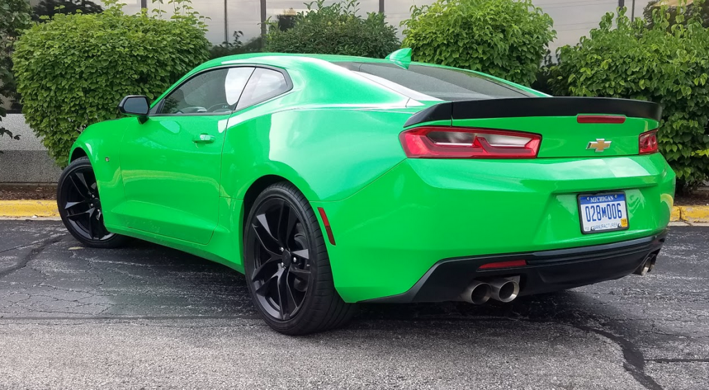 2017 Camaro in Kryton Green