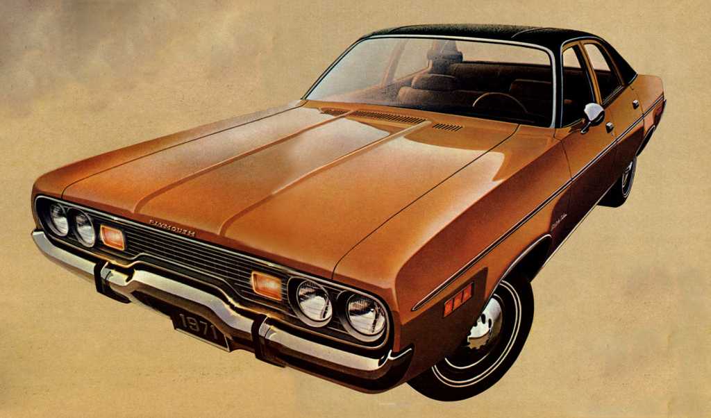 1971 Plymouth Satellite, Sedans of 1971