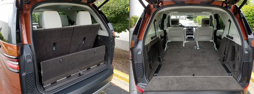 2017 Discovery Cargo Area