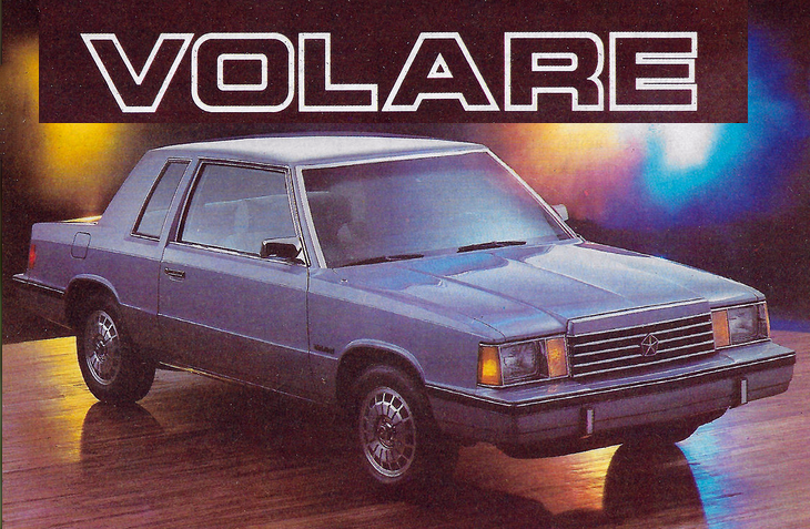 1984 Chrysler Volare