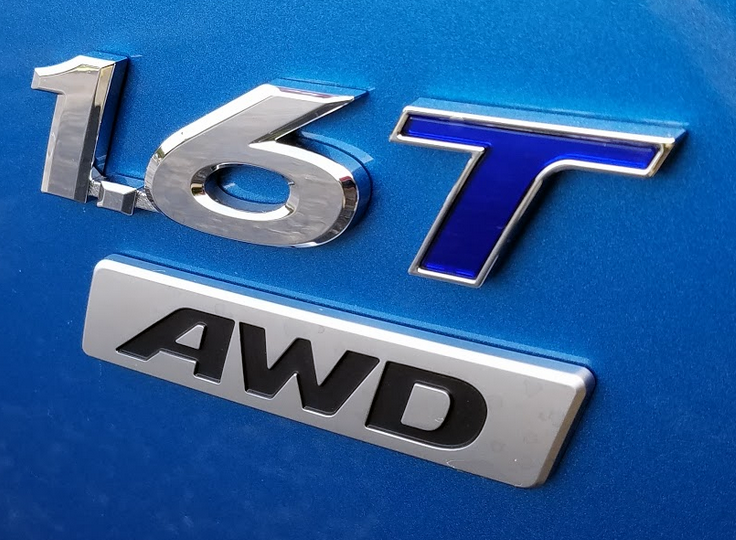 Hyundai 1.6T Badge