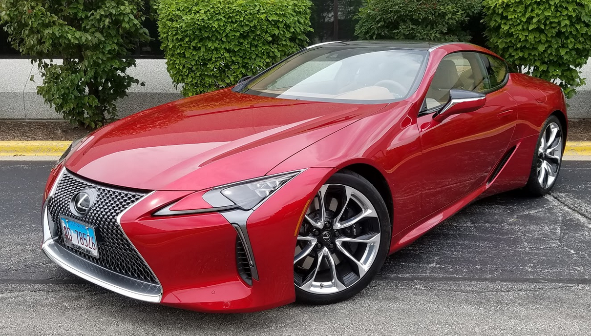 Used Lexus Convertible >> Test Drive: 2018 Lexus LC 500 | The Daily Drive | Consumer ...