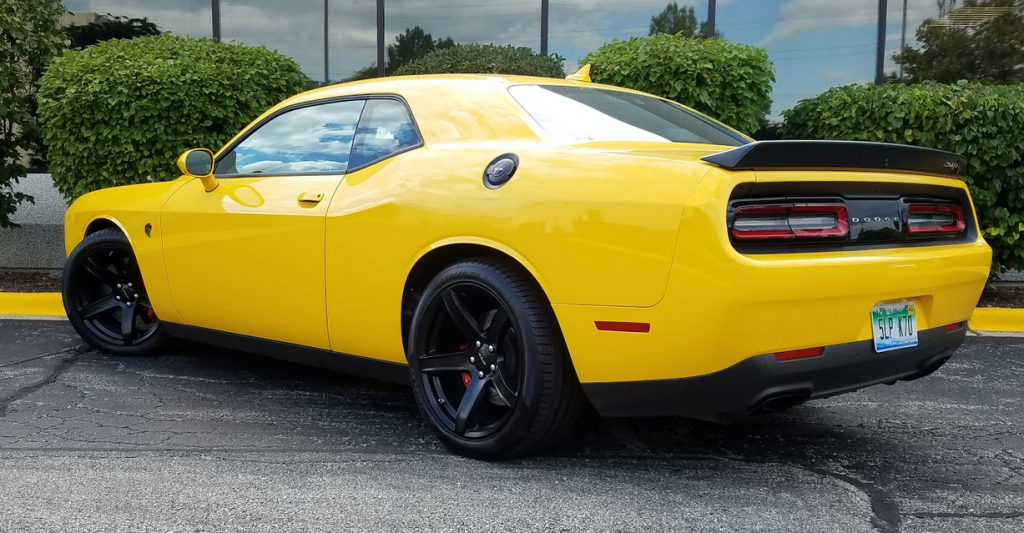 2017 Dodge Challenger SRT Hellcat in Yellow Jacket