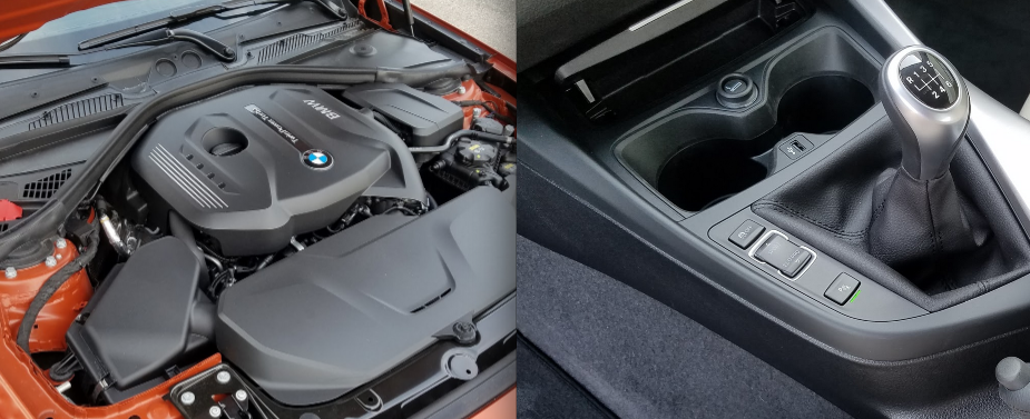 BMW 2-Series TwinPower engine