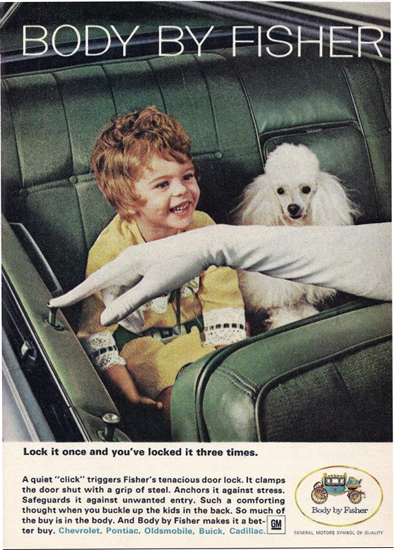 1966 Fisher Body Ad
