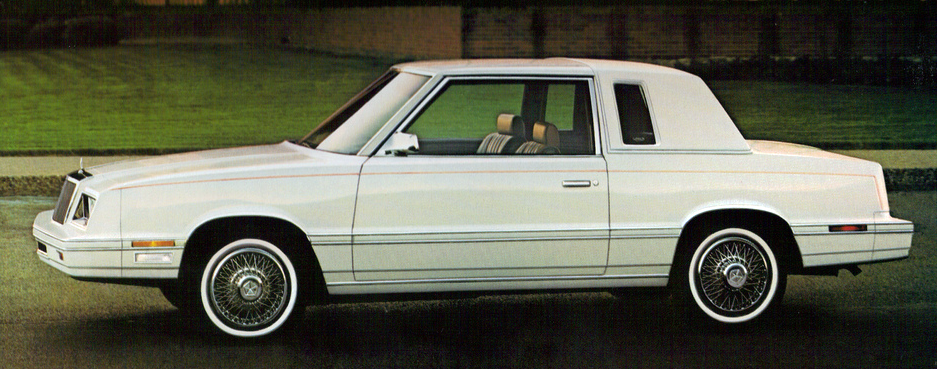 1982 Chrysler LeBaron Coupe