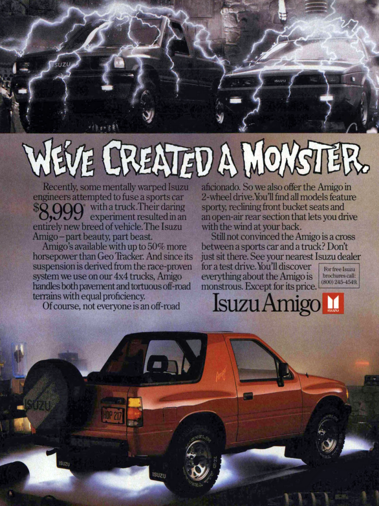 Dead Brand Madness 10 Classic Car Ads From The 80s And 90s The Daily Drive Consumer Guide