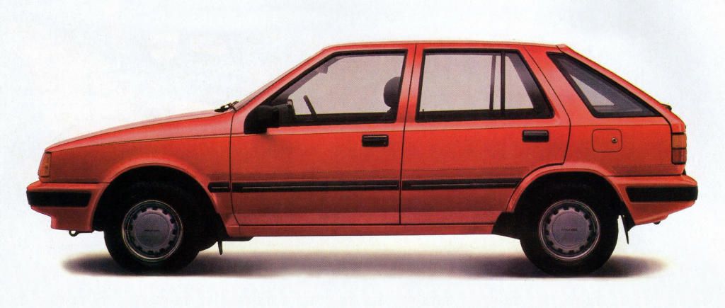1986 Hyundai Excel Sedan