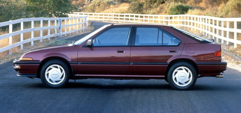 1986 Acura Integra Sedan