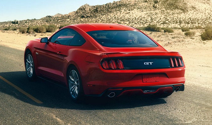 2017 Ford Mustang GT, Power-to-Weight Radio