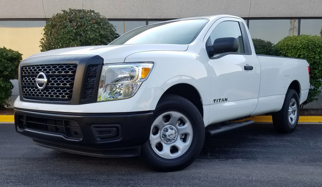 2017 Nissan Titan Regular Cab