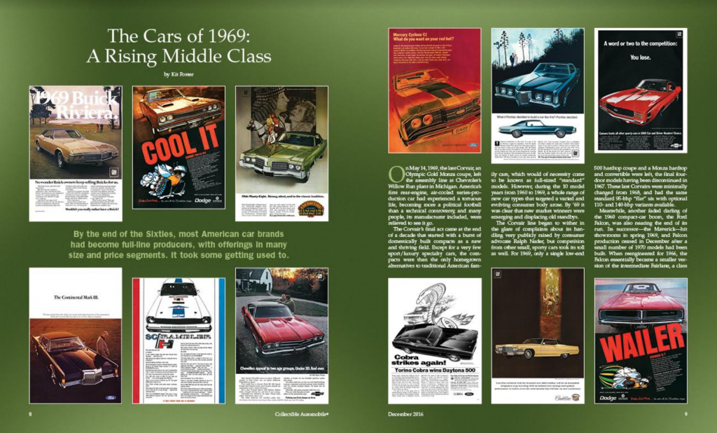 Collectible Automobile Magazine, Society of Automotive Historians Awards