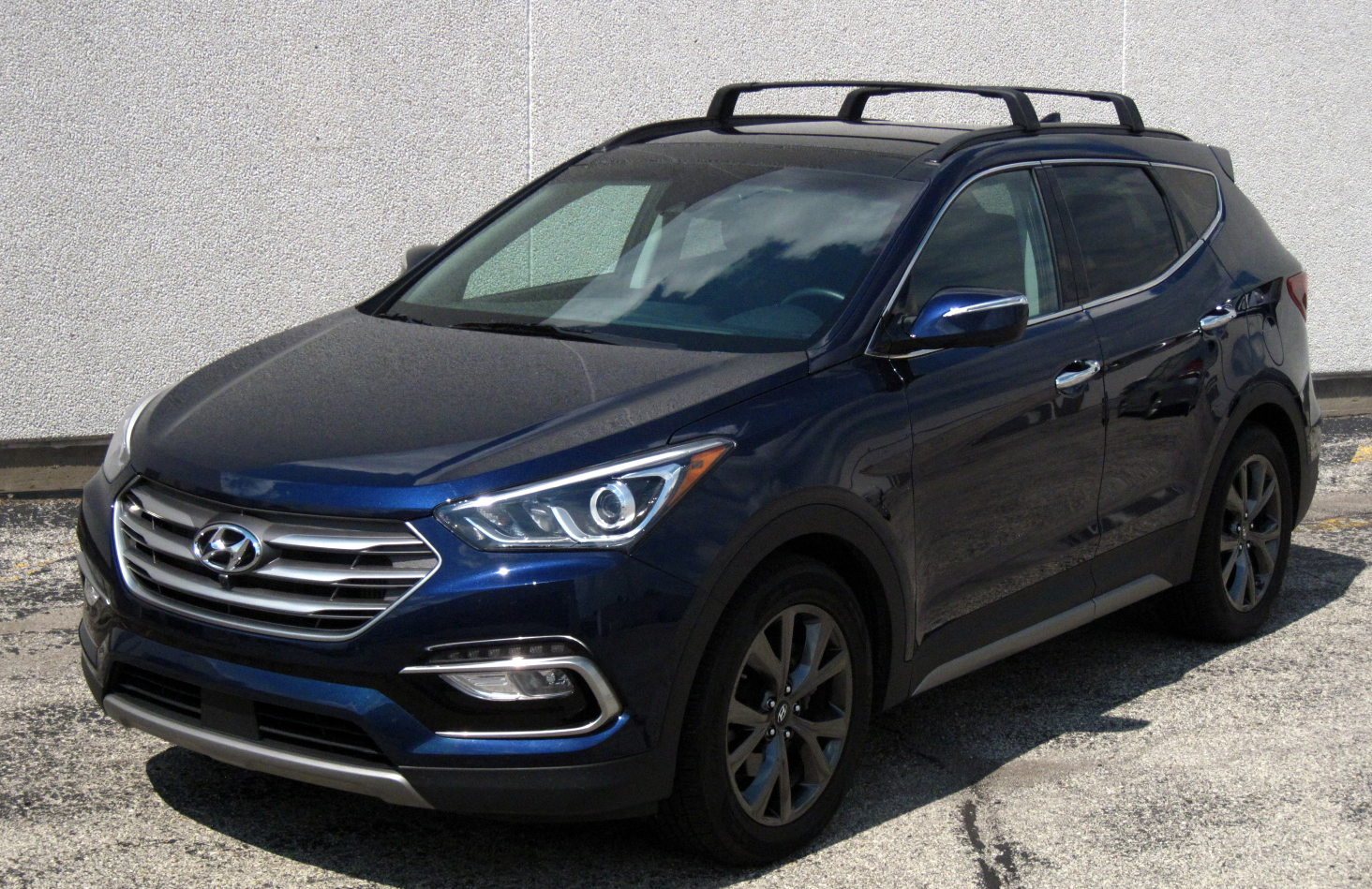 quick spin 2017 hyundai santa fe sport 2 0t ultimate. Black Bedroom Furniture Sets. Home Design Ideas