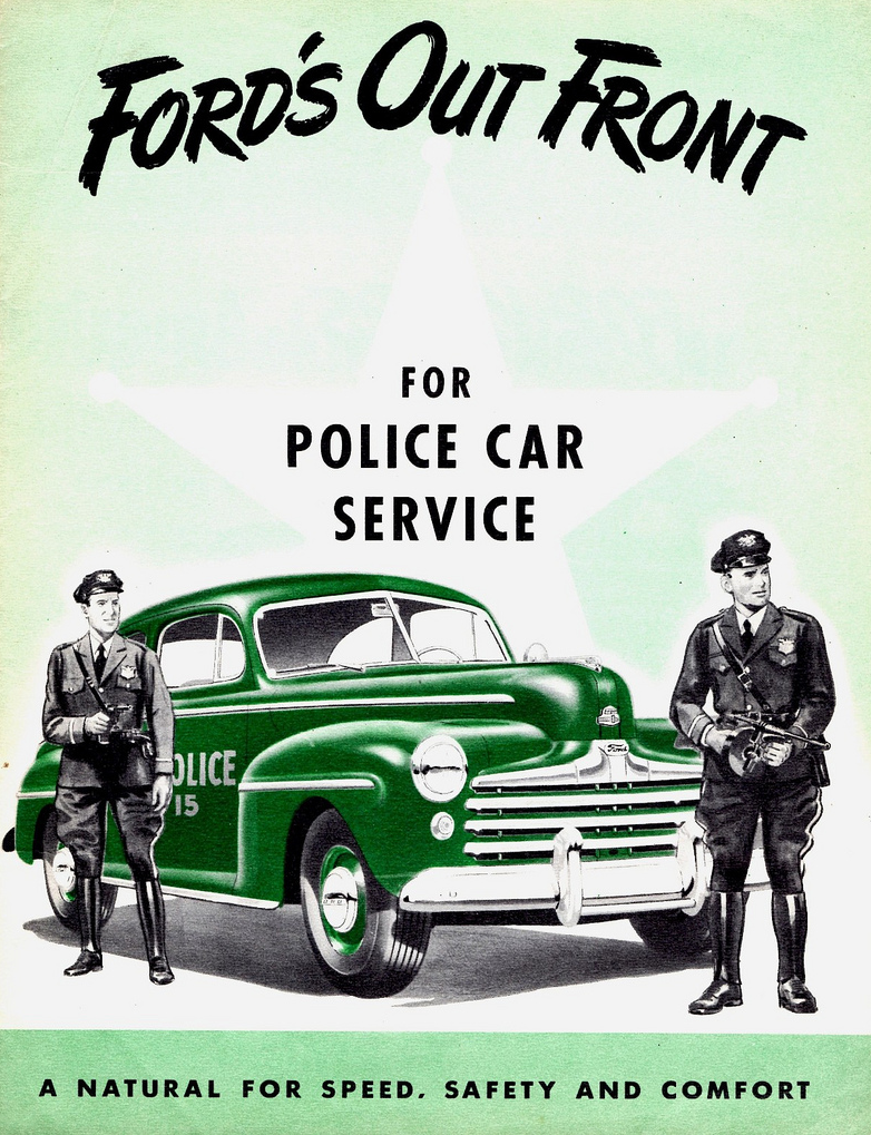 1947 Ford Police Vehicle Brochure