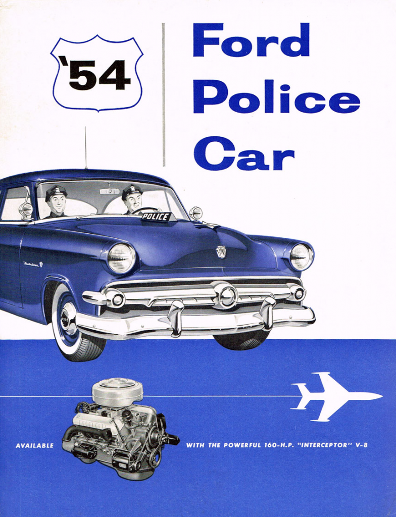 1954 Ford Police Vehicle Brochure