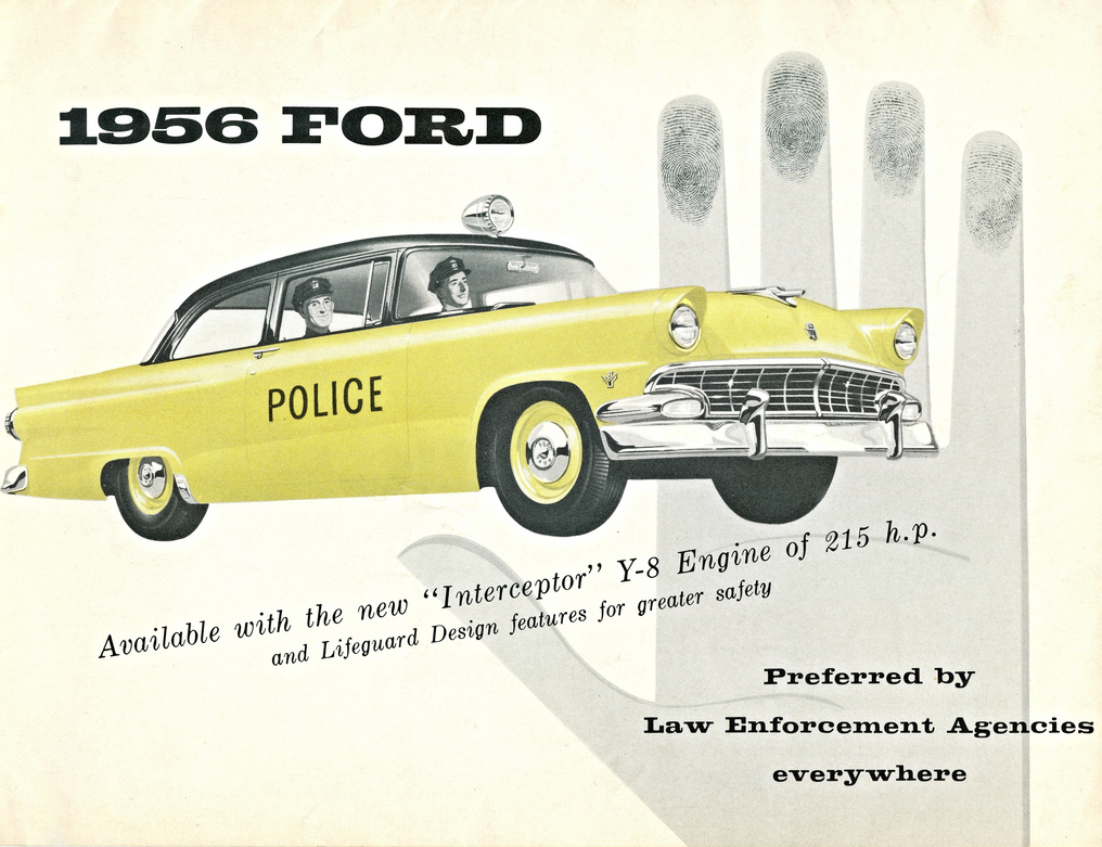 1956 Ford Police Brochure