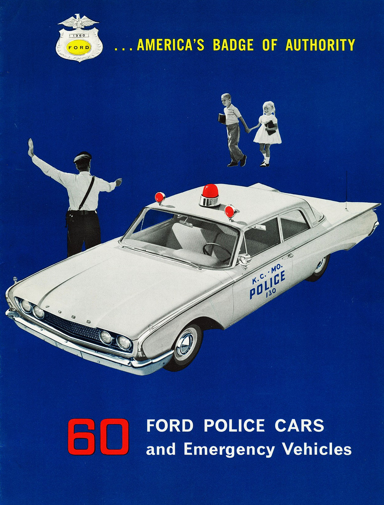 1960 Ford Police Vehicle Brochure