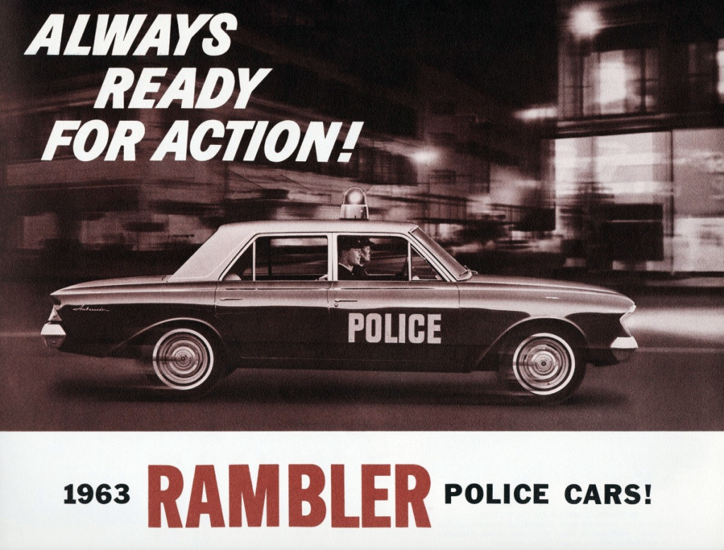 1963 Rambler Police Vehicle Brochure