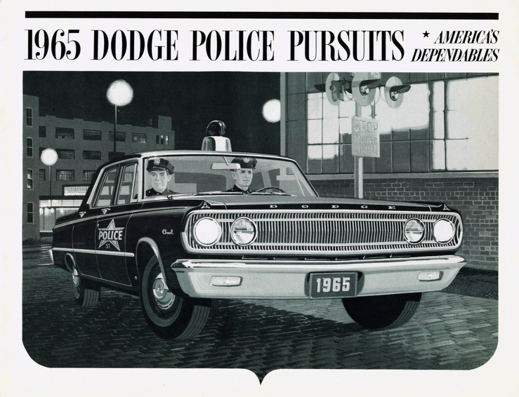 1965 Dodge Police Vehicle Brochure