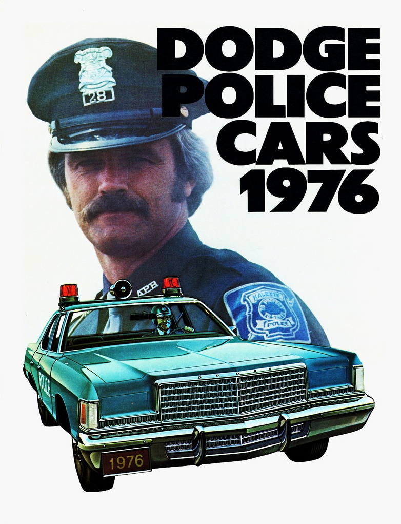 1976 Dodge Police Vehicle Brochure