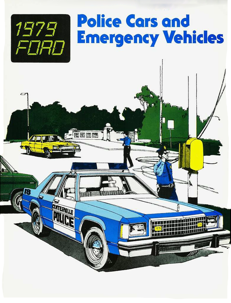 1979 Ford Polive Vehicle Brochure