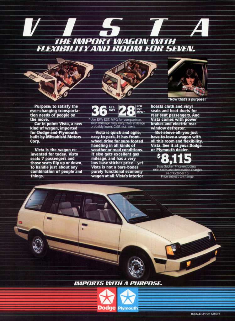 1983 Dodge/Plymouth Vista