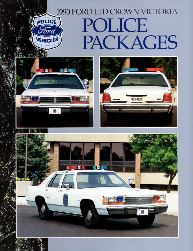 1990 Ford Police Vehicle Brochure