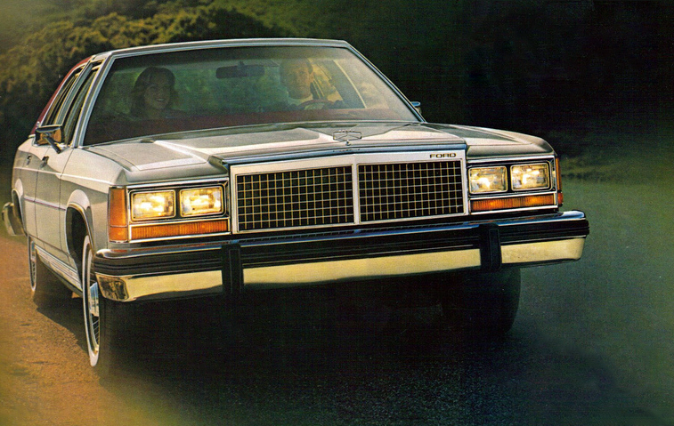 1981 Ford LTD, Classic Ads From 1981