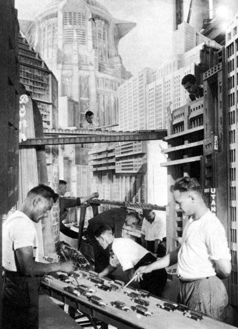 Metropolis, behind the scenes.
