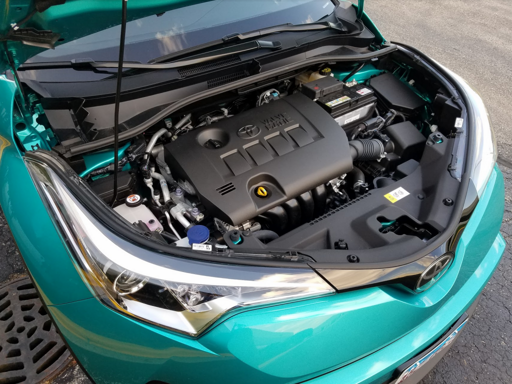 C-HR Engine Bay