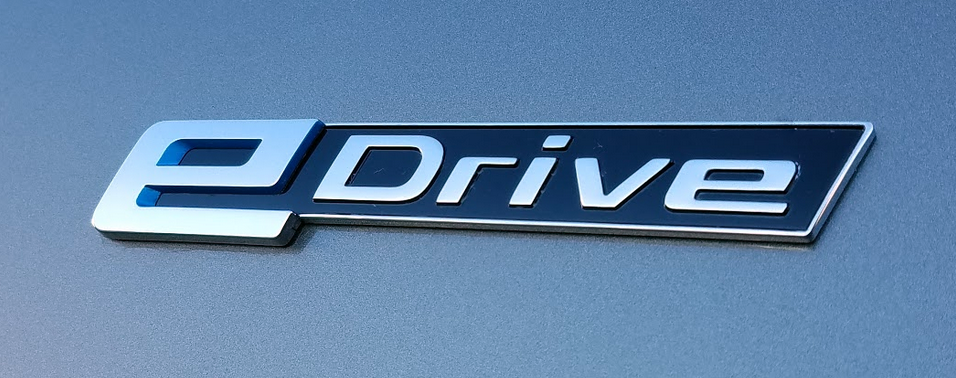 BMW eDrive badge