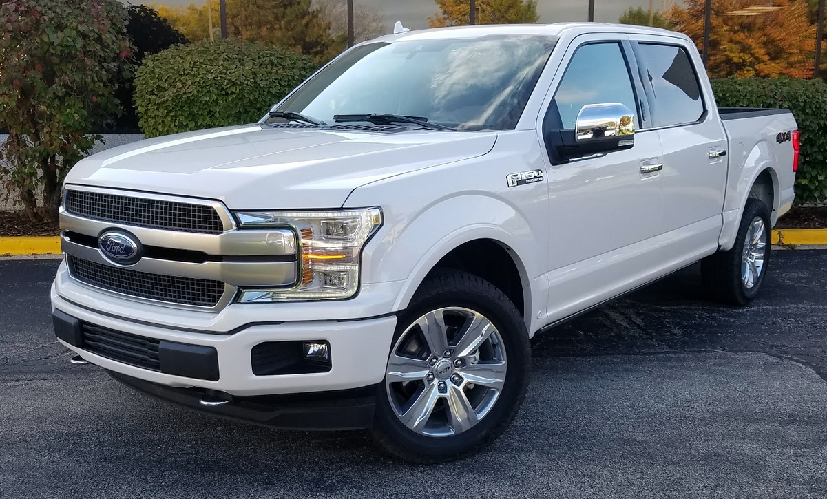 Test Drive 2018 Ford F 150 Supercrew Platinum The Daily