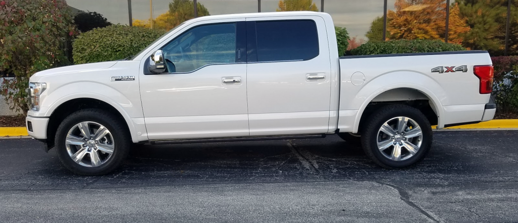 2018 Ford F-150 Profile