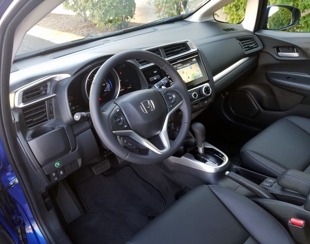 2018 Honda Fit cabin