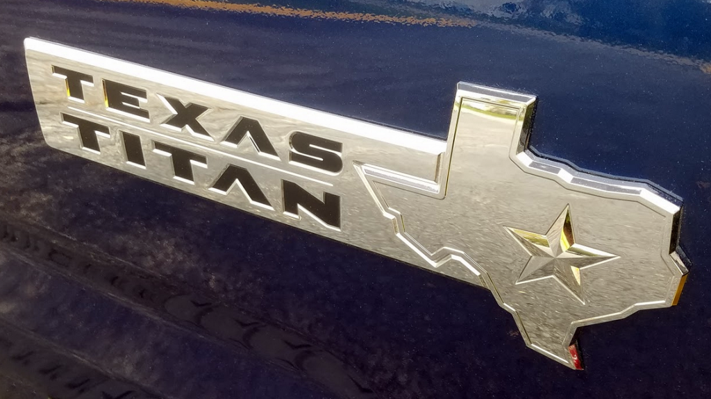 Texas Titan Badge