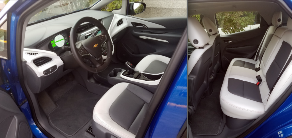 2017 Chevrolet Bolt Cabin