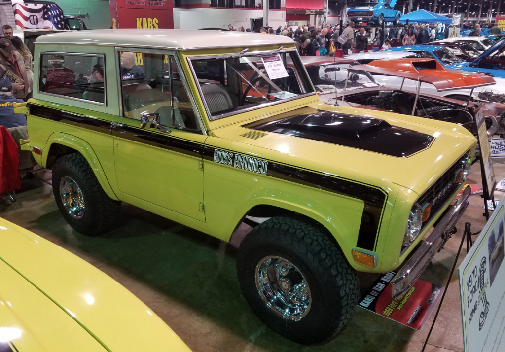 "1969 Ford ""Boss Bronco"""